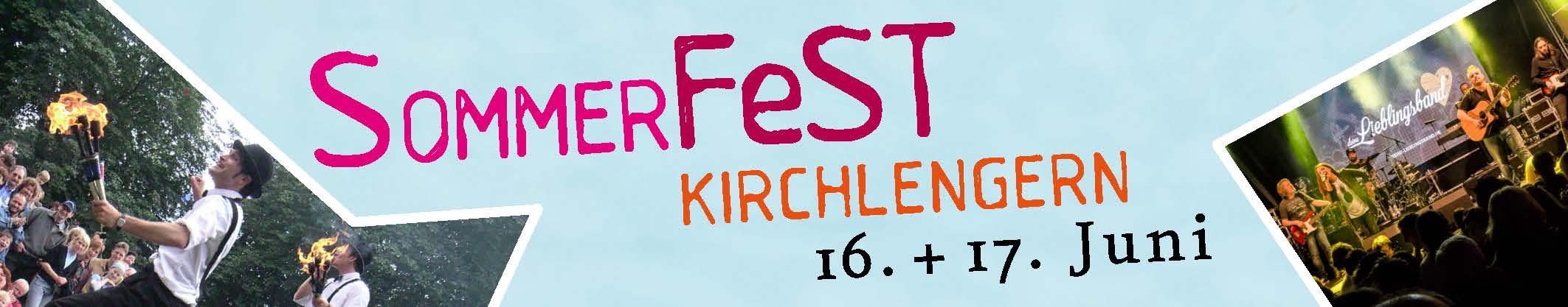 Sommerfest Banner 2018