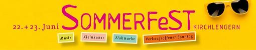 Sommerfest Banner 2019