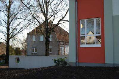 Letzter Gebäudeteil Volksschule Klosterbauerschaft