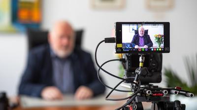 Bürgermeister Rüdiger Meier Videobotschaft Ostern