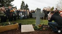 Einweihung Gedenkstätte Zwangsarbeiter