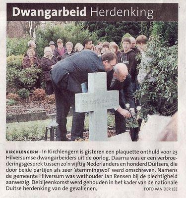 Pressebericht aus Hilversum